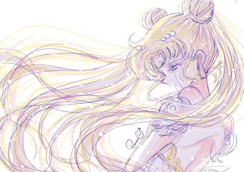 ảnh công chúa - nàng Senerity trong 'Sailor Moon'