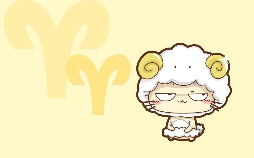 ảnh cung bạch dương - chú cừu biểu tượng ngộ nghĩnh và hài hước