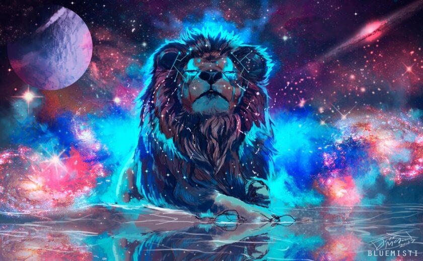 ảnh cung sư tử - chú sư tử uy nghiêm và quyền lực