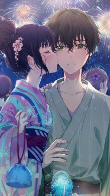 ảnh đại diện avt anime đôi nam nữ