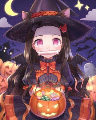 ảnh đại diện avt anime halloween