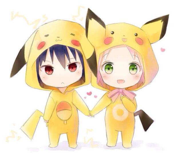ảnh đại diện bff pikachu