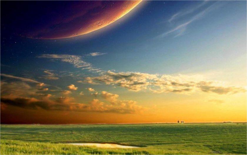 ảnh thiên nhiên buồn về mây trời