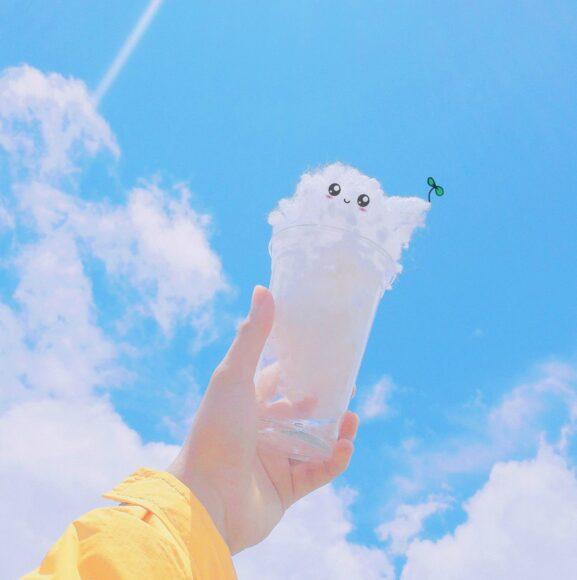 Avatar cho con gái về mây trời cute