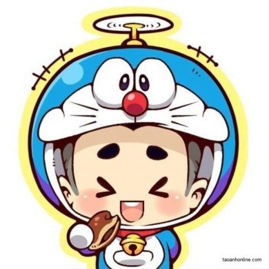 avatar doremon chibi cute