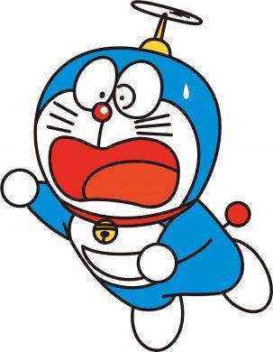 avatar doremon sợ hãi