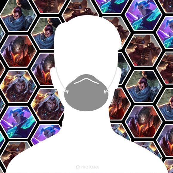avatar facebook độc chàng trai đeo khẩu trang