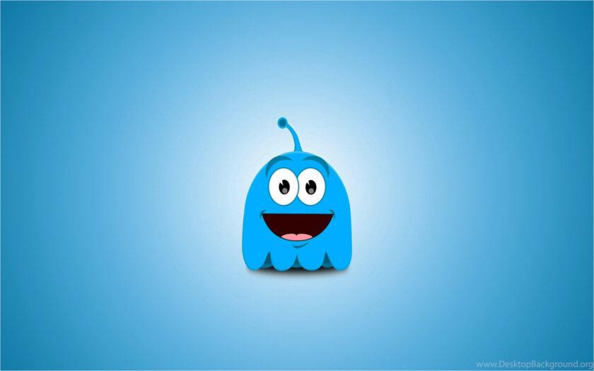 background màu xanh dương cute