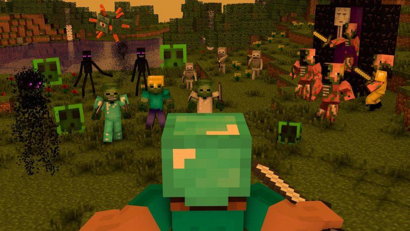 bộ hình nền Minecraft chất lượng cao