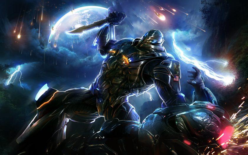 hình ảnh 4k chiến đấu trong game