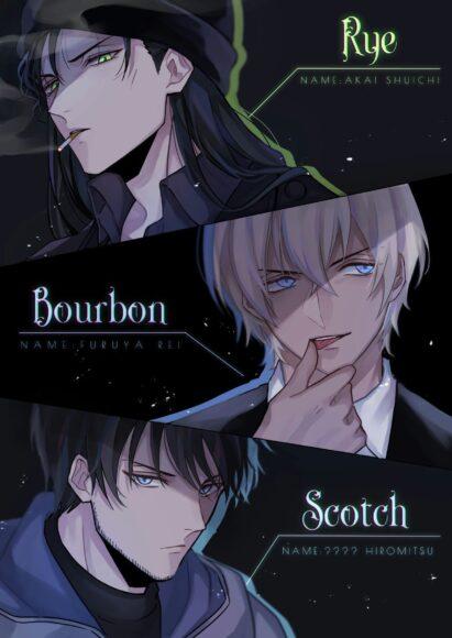 Hình ảnh anime 3 anh chàng đẹp trai