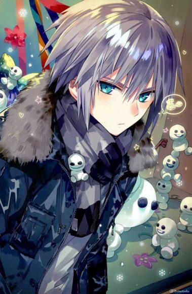 Hình ảnh anime boy lạnh lùng thu hút