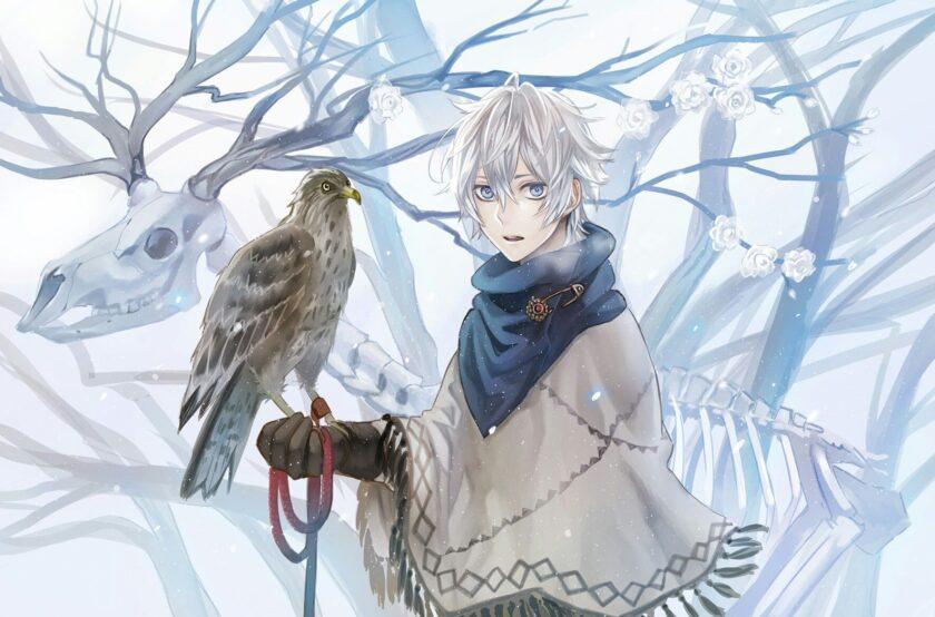 Hình ảnh anime boy mùa đông lạnh lùng