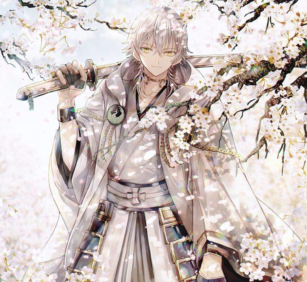 Hình ảnh anime boy tóc bạch kim ngầu nhất
