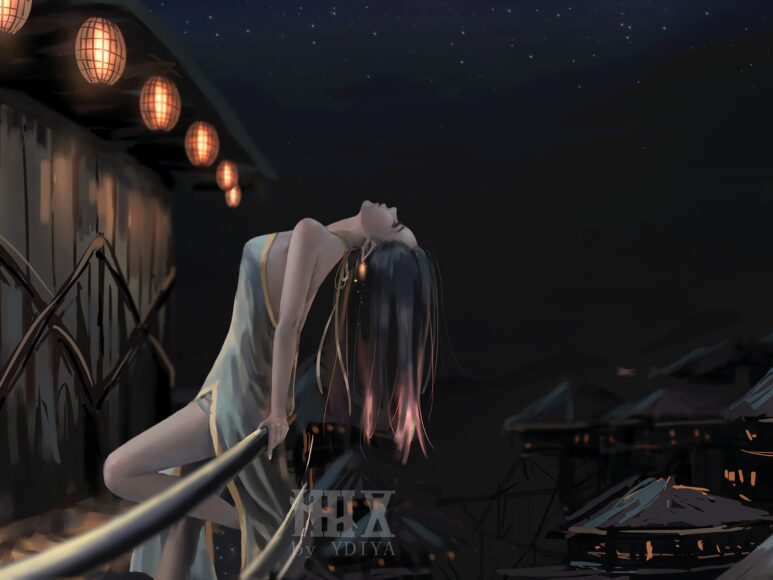 Hình ảnh anime cô đơn buồn đẹp