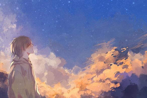 hình ảnh anime cô đơn đẹp nhất