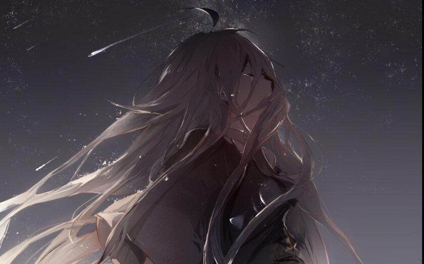 Hình ảnh anime cô đơn nghệ thuật