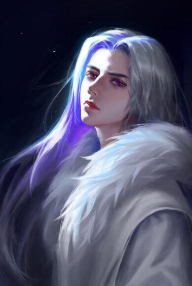 Hình ảnh anime cổ trang đẹp như hoàng tử