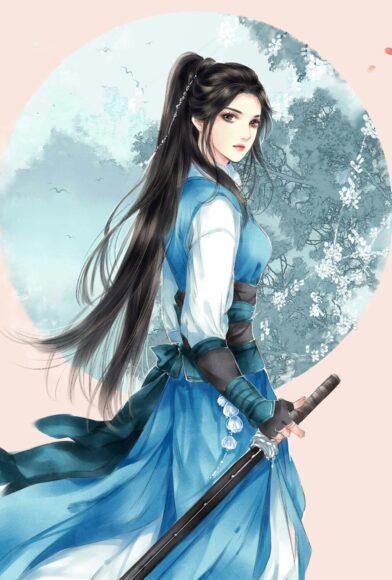 Hình ảnh anime cổ trang đẹp tựa nữ thần