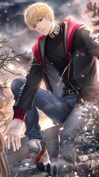 Hình ảnh anime đẹp trai đầy phong cách