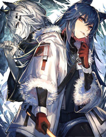 Hình ảnh anime lạnh lùng girl