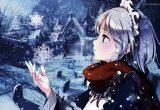 hình ảnh anime mùa đông