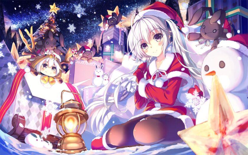 Hình ảnh anime mùa đông đẹp