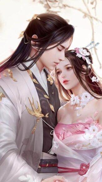 hình ảnh anime tình yêu kiếm hiệp cổ trang