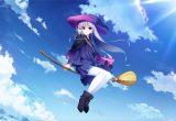 hình ảnh anime tóc bạch kim