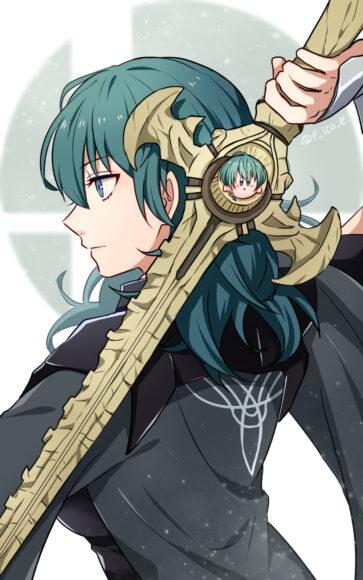 Hình ảnh anime tóc xanh đẹp