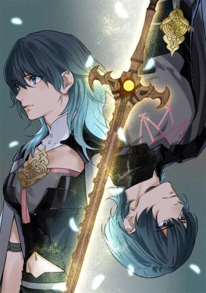Hình ảnh anime tóc xanh đẹp nhất