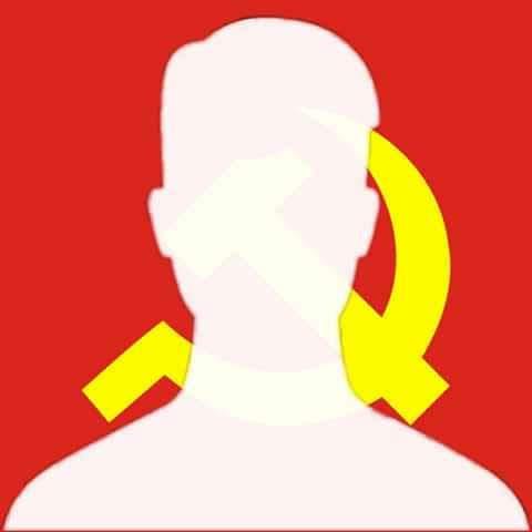 hình ảnh avatar trắng cho con trai với lá cờ việt nam