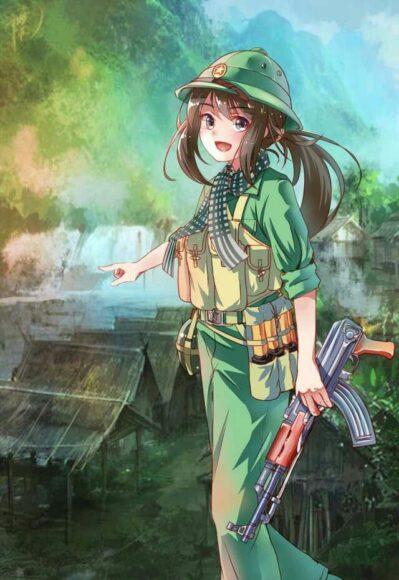 Hình ảnh bộ đội nữ anime đẹp