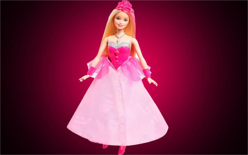 hình ảnh búp bê barbie dễ thương