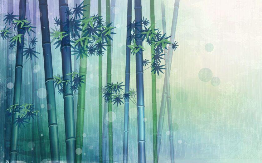 Hình ảnh cây tre làm ảnh nền desktop