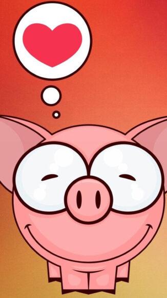 Hình ảnh con lợn ngộ nghĩnh