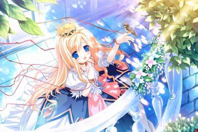 Hình ảnh công chúa anime công chúa dễ thương