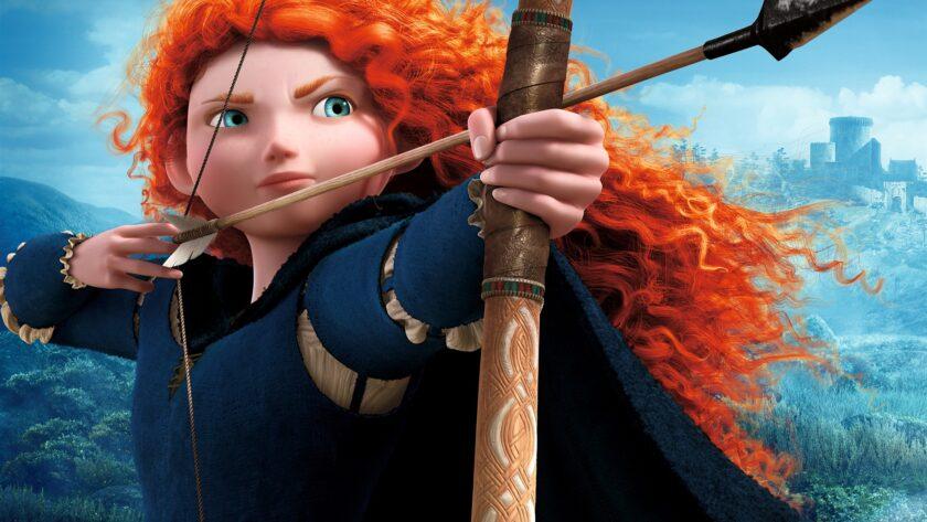 hình ảnh công chúa - công chúa Merida mạnh mẽ và dũng cảm