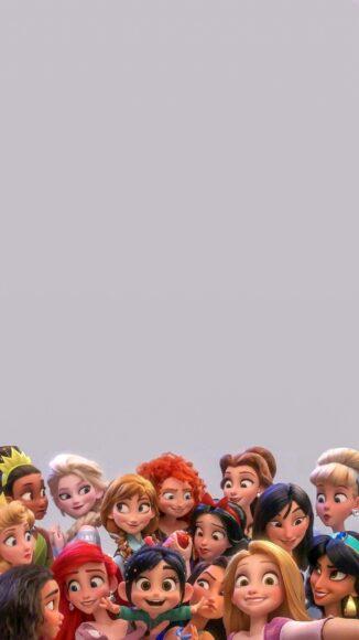 hình ảnh cong chúa - tập hợp các công chúa trong phim Disney