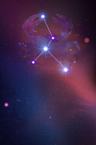 Hình ảnh cung Cự Giải chòm sao đẹp