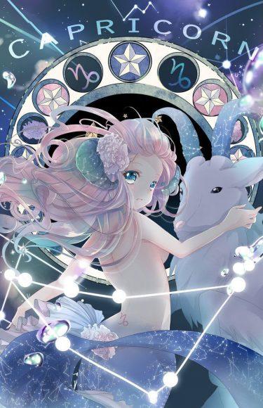 Hình ảnh cung Ma Kết anime