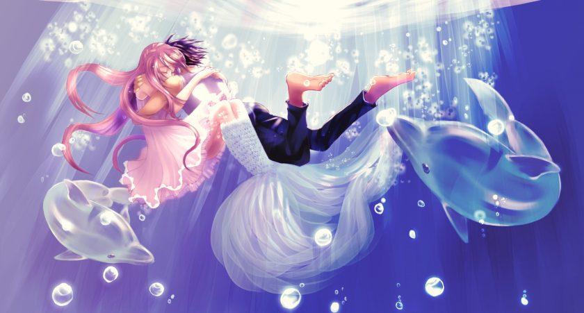 hình ảnh cung song ngư anime