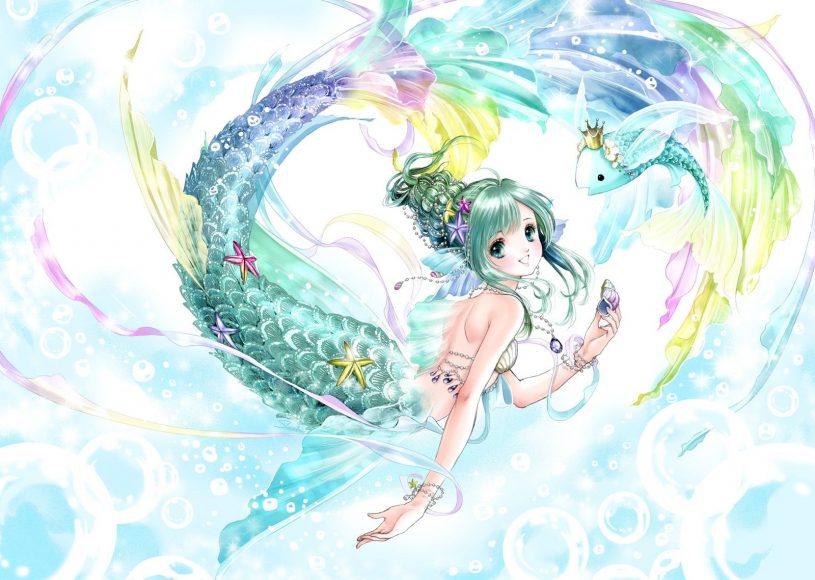Hình ảnh cung Song Ngư anime dễ thương