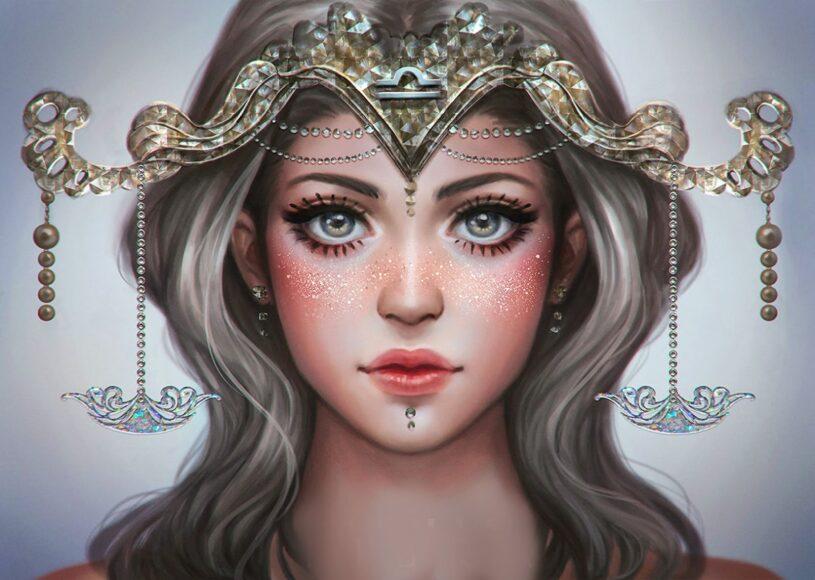 hình ảnh cung Thiên Bình - nữ thần hộ mệnh cho sự cân bằng