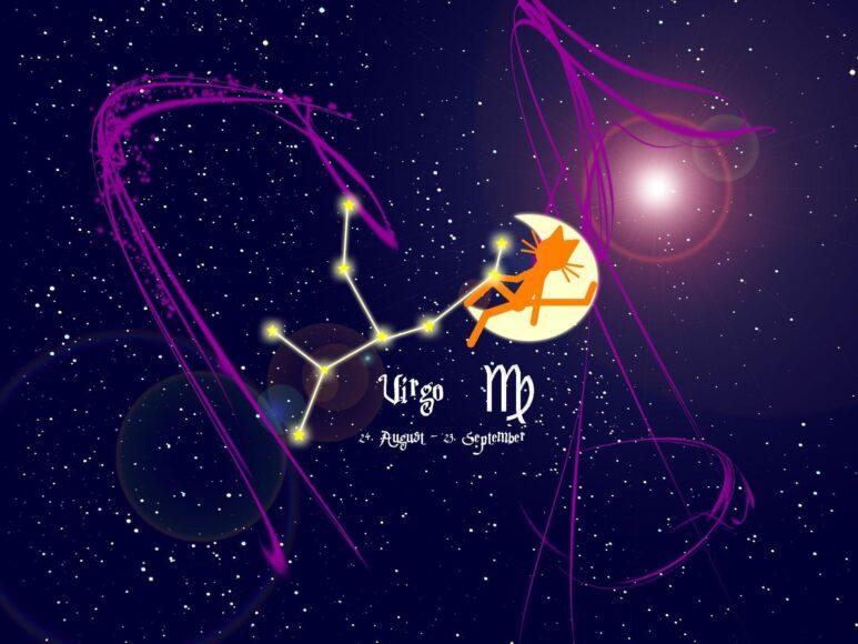 hình ảnh cung xử nữ - hình dáng chòm sao cùng kí hiệu