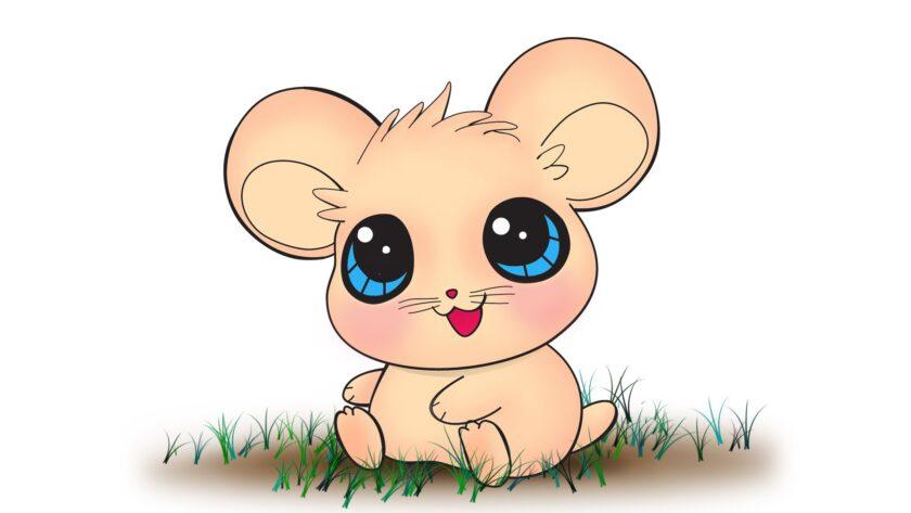 hình ảnh động vật dễ thương về con chuột cute