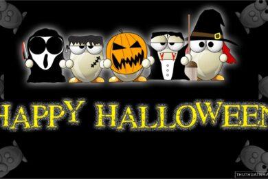 hình ảnh halloween dễ thương