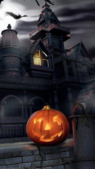 hình ảnh halloween dễ thương cho điện thoại