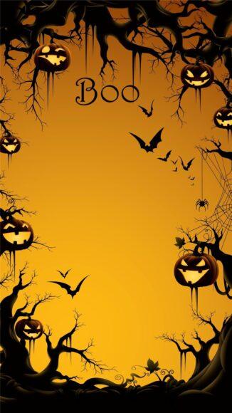 hình ảnh halloween dễ thương cho iPhone