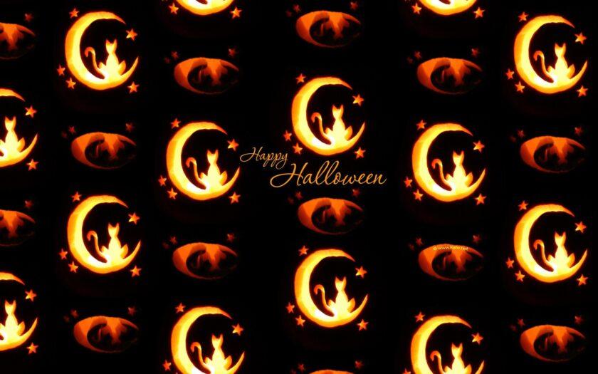 hình ảnh halloween dễ thương làm hình nền cho máy tính